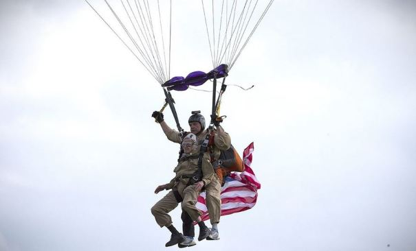 93 Year Old Paratrooper Jim Martin