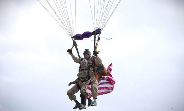 93 Year Old Paratrooper Jim Martin